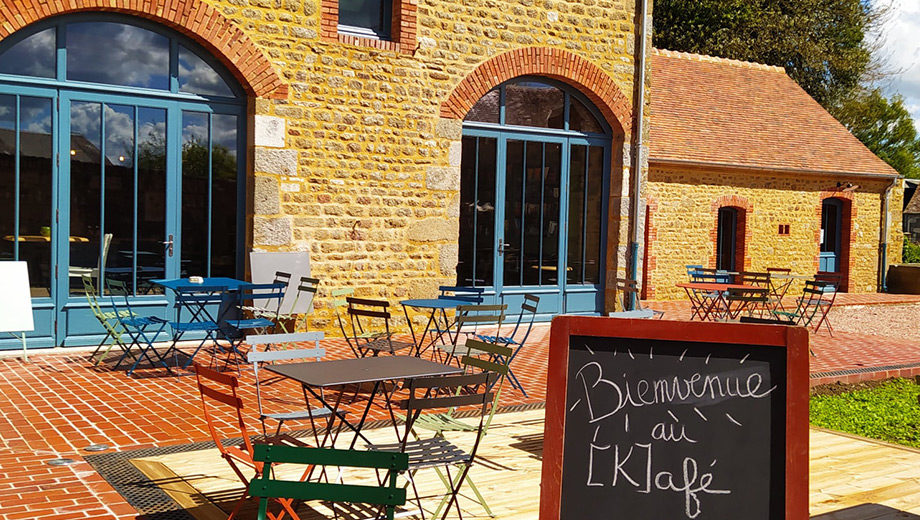 Bienvenue au kafe terrasse Le K-Rabo